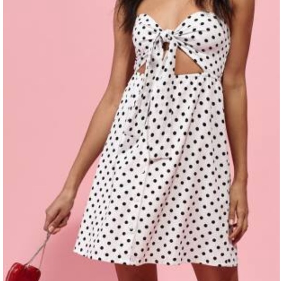 Kendall & Kylie Dresses & Skirts - NWT Kendall & Kylie Polka Dot Mini Dot Dress-S